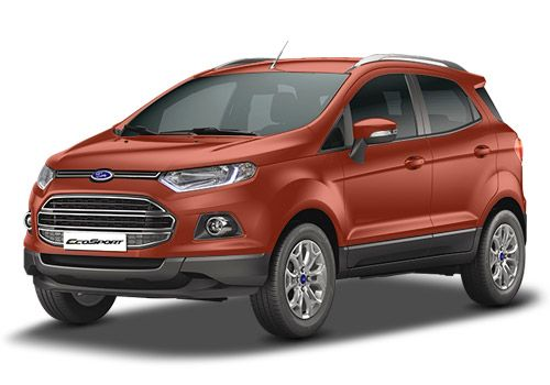 Ford EcoSport Mars Red Color