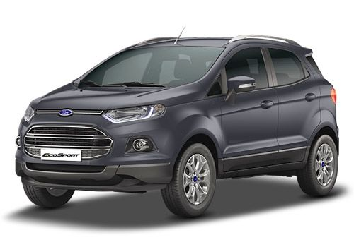 Ford EcoSport Smoke Grey Color