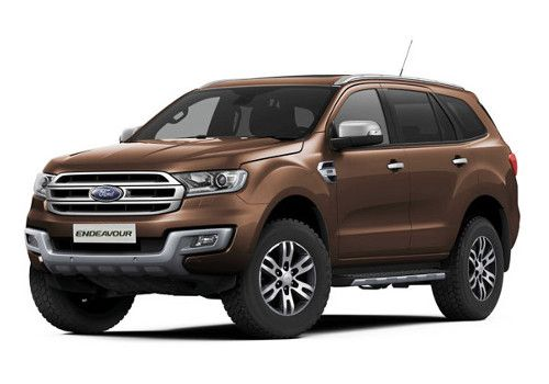 Ford EndeavourGolden Bronze Color