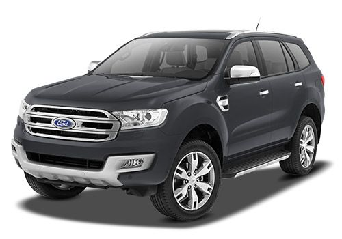 Ford Endeavour Smoke Grey Color