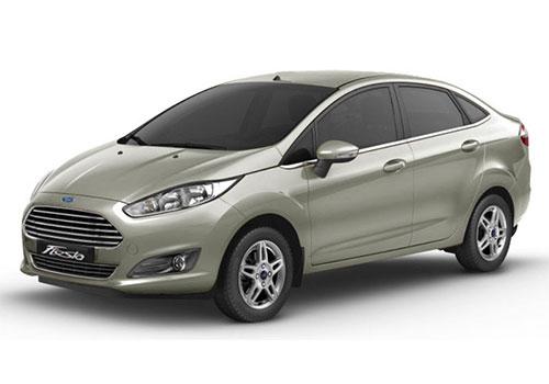 Ford Fiesta Moondust Silver Color
