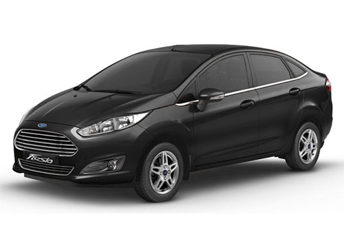Ford Fiesta Panther Black Color