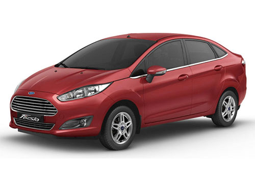 Ford Fiesta Paprika Red Color