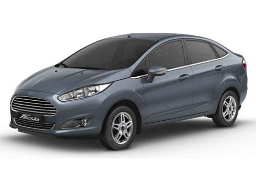 Ford Fiesta Smoke Grey Color