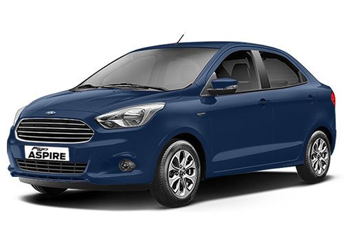 Ford Aspire Deep Impact Blue Color