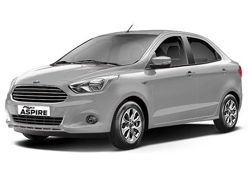 Ford Aspire Ingot Silver Color