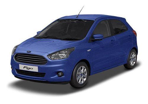Ford Figo Deep Impact Blue Color