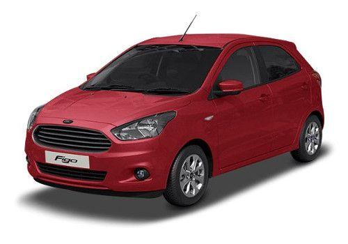 Ford Figo Ruby Red Color