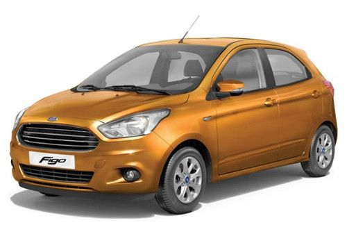 Ford FigoSparkiling Gold Color