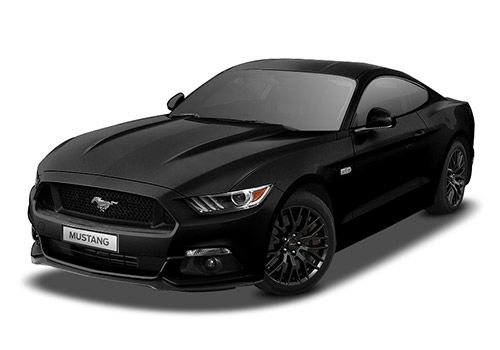 Ford MustangAbsolute Black Color