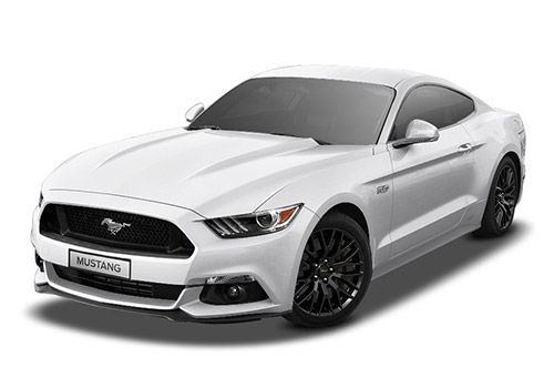 Ford Mustang Oxford White Color