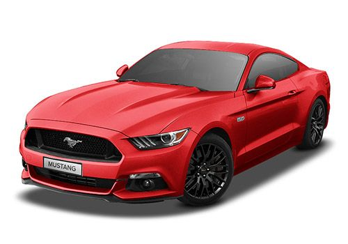 Ford Mustang Race Red Color