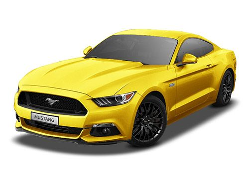 Ford Mustang Triple Yellow Tricoat Color