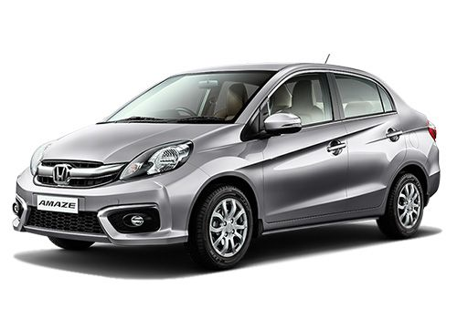 Honda Amaze Alabaster Silver Metallic Color