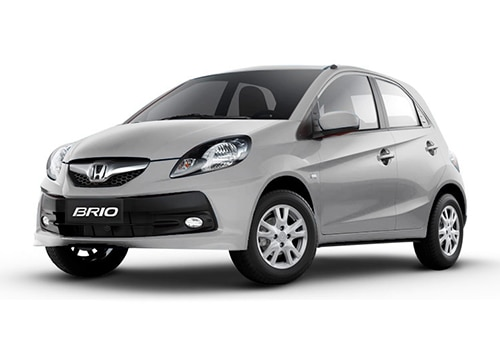 Honda Brio Alabaster Silver Color