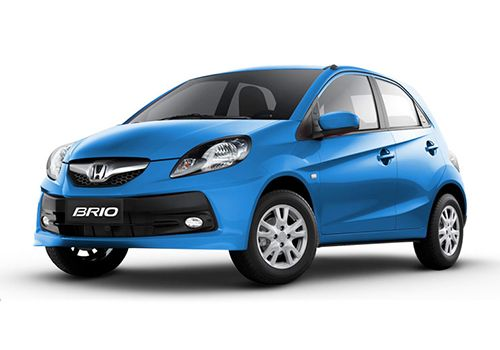 Honda Brio Majestic Blue Color
