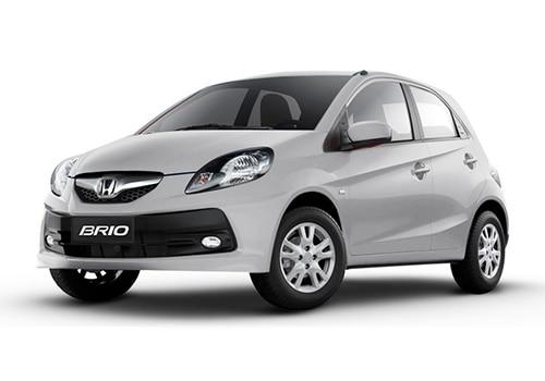Honda Brio Tafeta White Color