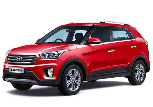 Hyundai CretaRed Passion  Color