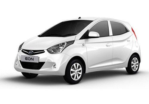 Hyundai EON Polar White Color