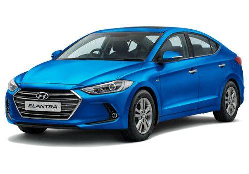 Hyundai Elantra Mariana Blue Color