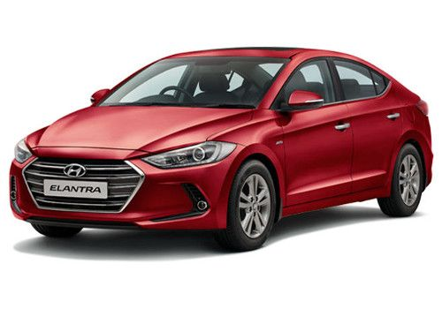 Hyundai ElantraRed Passion  Color