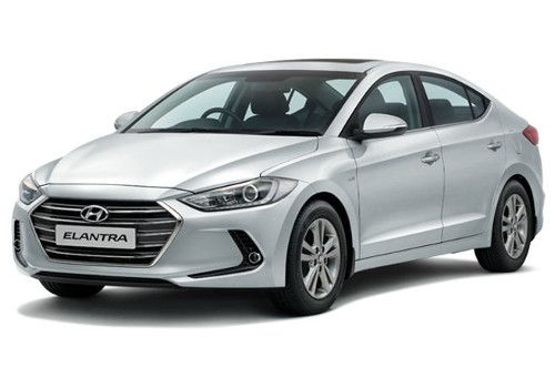 Hyundai Elantra Sleek Silver Color
