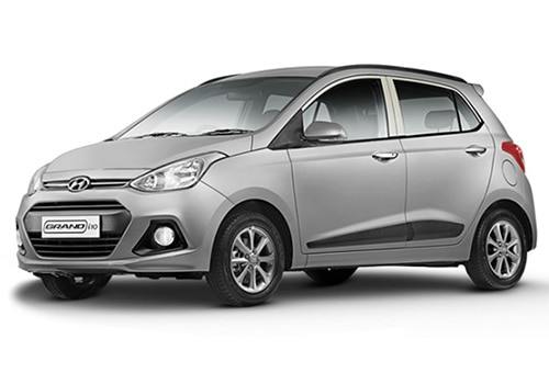 Hyundai Grand i10Sleek Silver Color