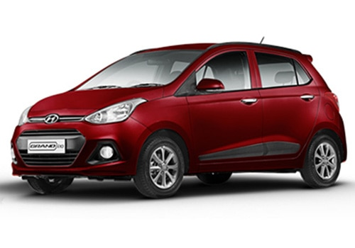 Hyundai Grand i10 Wine Red Color