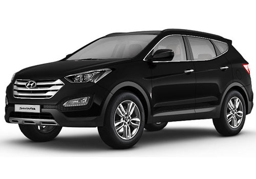 Hyundai Santa Fe Phantom Black Color