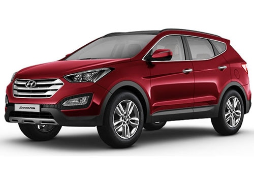 Hyundai Santa Fe Red wine Color