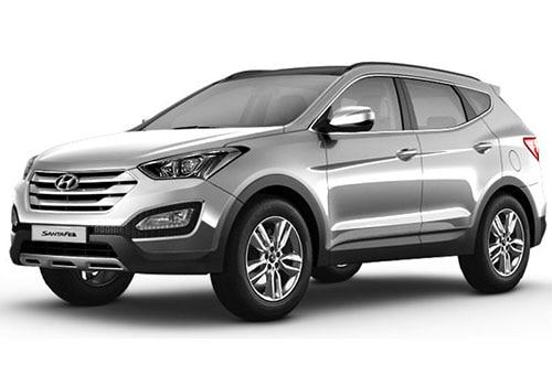 Hyundai Santa FeSleek Silver Color