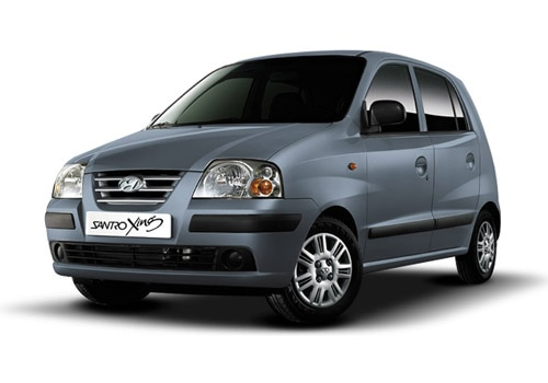 Hyundai Santro Xing Ember Grey Color