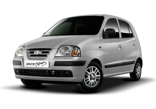 Hyundai Santro Xing Sleek Silver Color