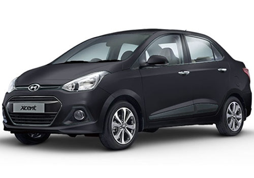 Hyundai Xcent Phantom Black Color