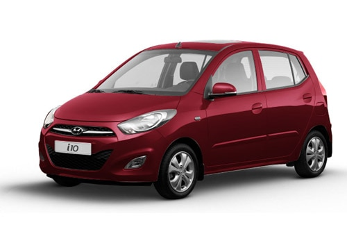 Hyundai i10 Wine Red Color