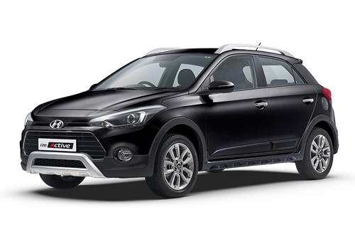 Hyundai i20 Active Phantom Black Color
