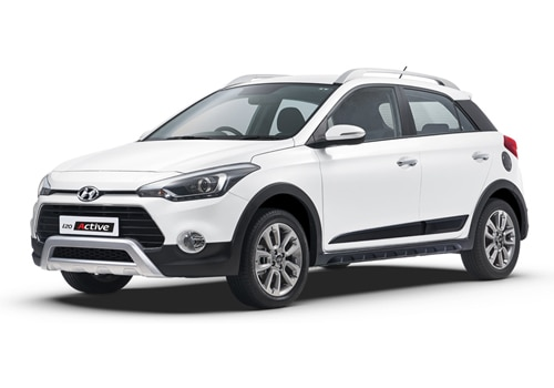 Hyundai i20 Active Polar White Color