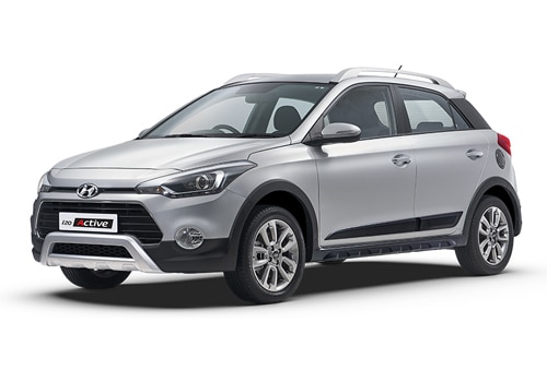 Hyundai i20 Active Sleek Silver Color