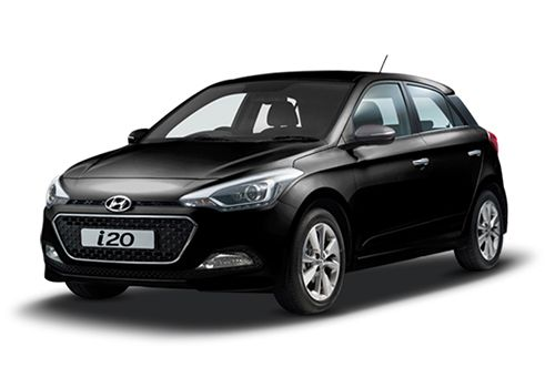 Hyundai Elite i20 Phantom Black Color