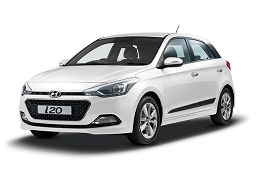Hyundai Elite i20 Polar White Color