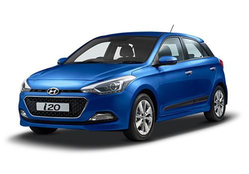 Hyundai Elite i20 Pristine Blue Color
