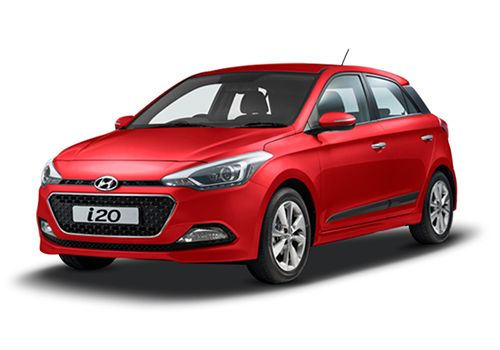 Hyundai Elite i20 Passion Red Color