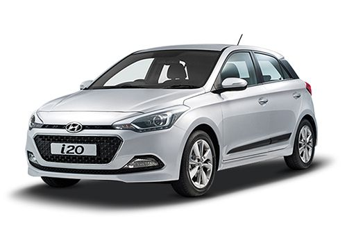 Hyundai Elite i20Sleek Silver Color