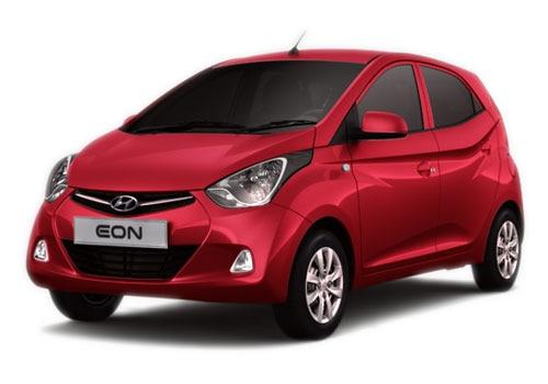 Hyundai EON Maharajah Red Color