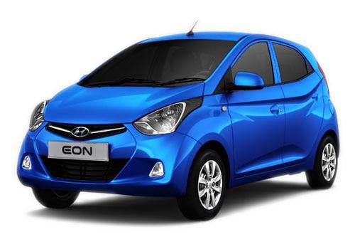 Hyundai EON Pristine Blue Color