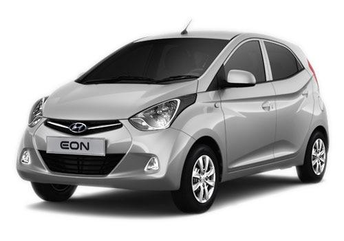 Hyundai EON Sleek Silver Color