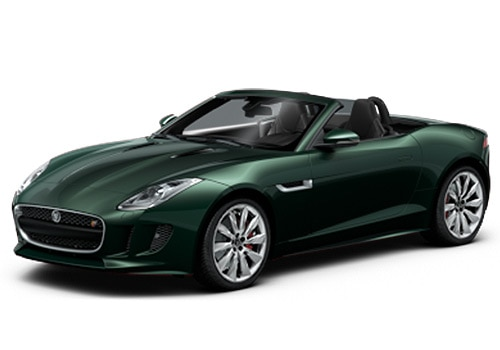 Jaguar F-Type British Racing Green Color