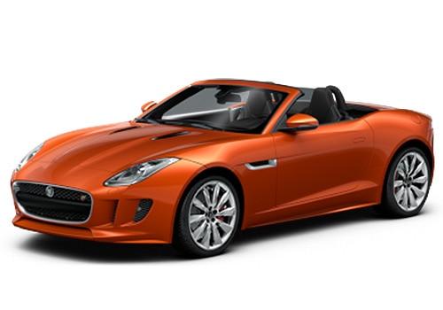 Jaguar F-Type Firesand Color