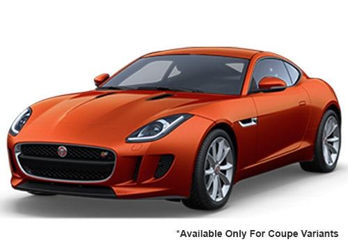 Jaguar F-Type Firesand swatch Coupe Variant Color
