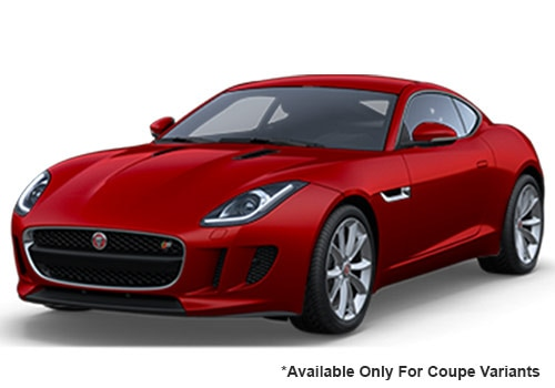 Jaguar F-Type Salsa Red swatch Coupe Variant Color